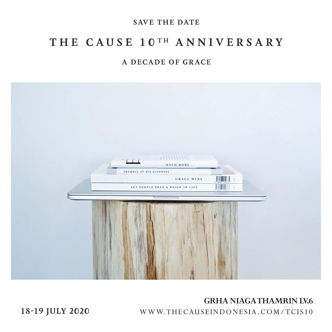 The Cause 10th Anniversary - A Decade of Grace